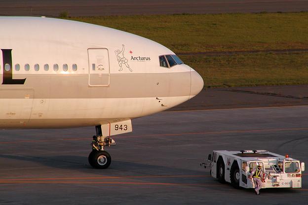 Photos: B777-300 JA8943 JAL Arcturus 2002.10