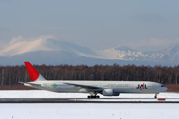 B777-300 JA752J  温暖化防止 2007.01
