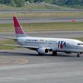 B737-400 JA8597 JTA CTS 2003.06