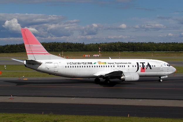 Photos: B737-400 JA8524 JTA CTS 2003.09(2)