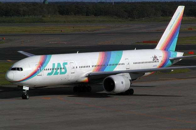 Photos: B777-200 JA007D JAS/JノL 2004.09 (1)