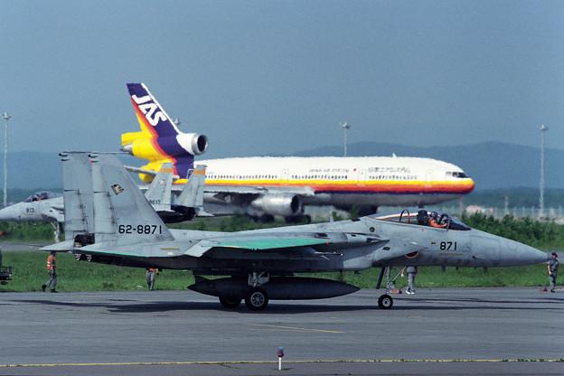 Photos: F-15J 8871 201sq CTS 1992
