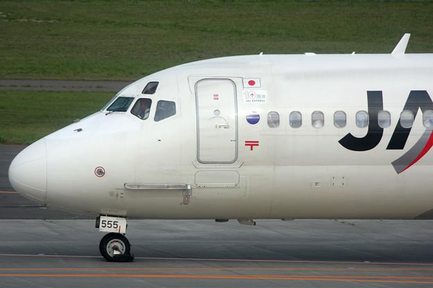 MD-81 JA8555 JAL Express 10周年 2008