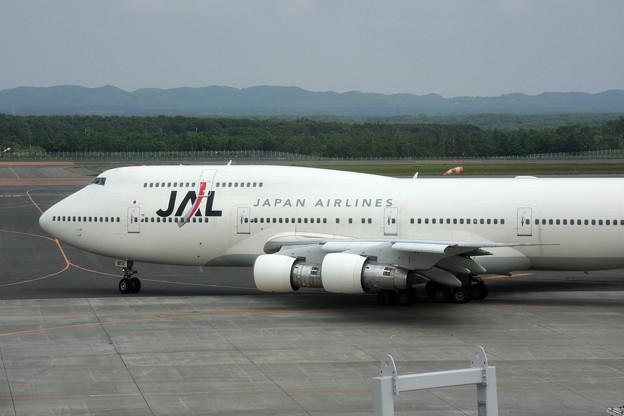 Photos: B747-346 JA812J JAL 2008