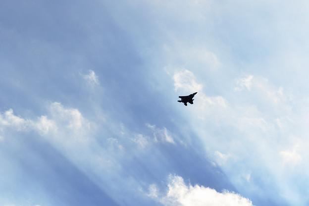 Photos: F-15 Return to Base (1)