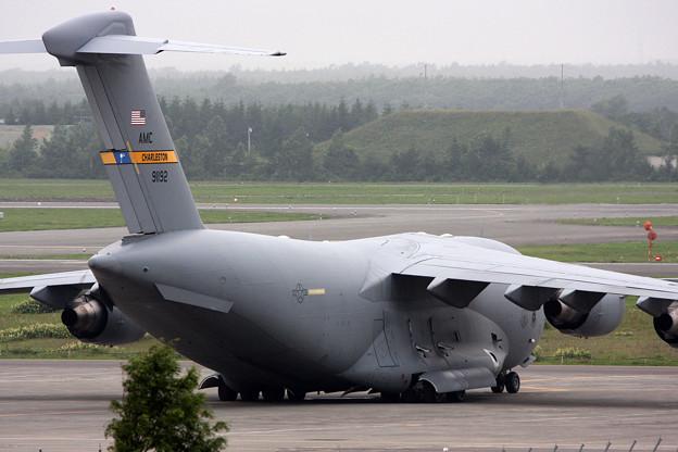 Photos: C-17A 89-1192 Charleston AMC CTS 2008