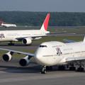 Photos: B747とB777とMD81 JAL CTS 2008