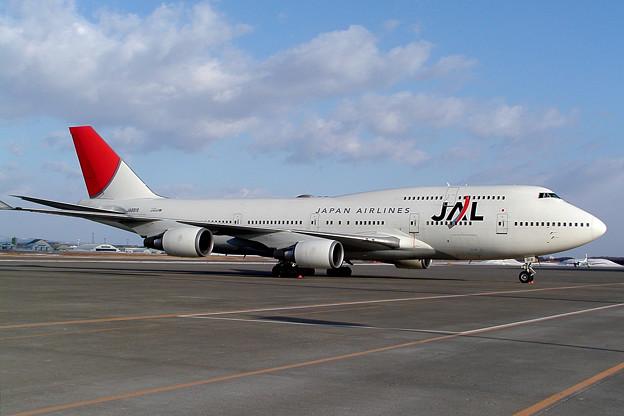 B747-446 JA8918 JAL 2009