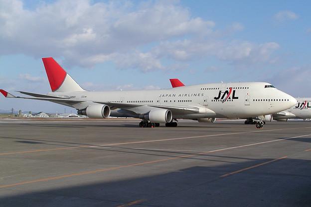 Photos: B747-446 JA8922 JAL 2009