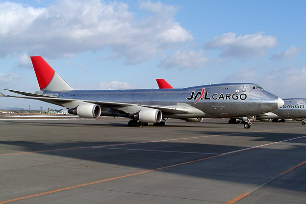 Photos: B747-446F JA401J JAL cargo 2009