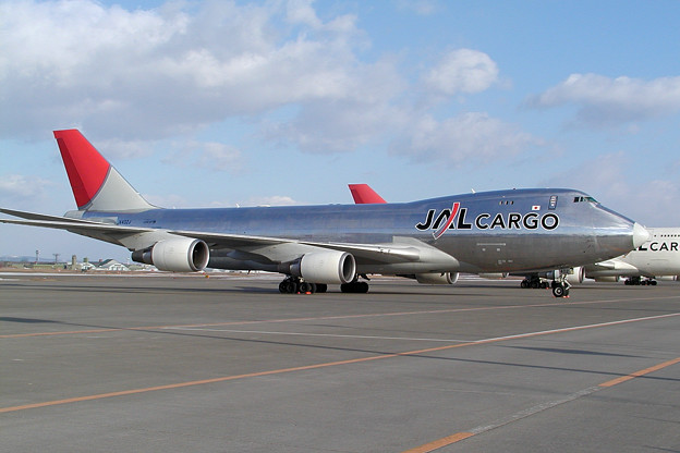 Photos: B747-446F JA402J JALcargo 2009