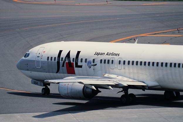 Photos: B737-400 JA8994 JAL Flower  Jet 1999