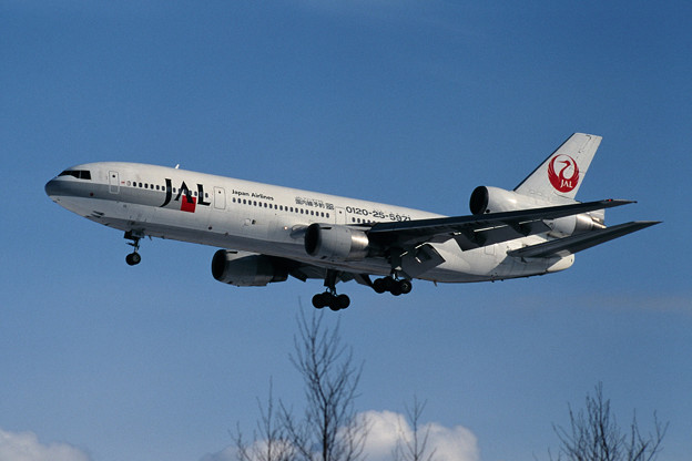 Photos: DC-10-40 JA8540 JAL Tel number 1997