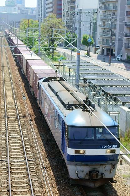 1086レ【EF210-168牽引】
