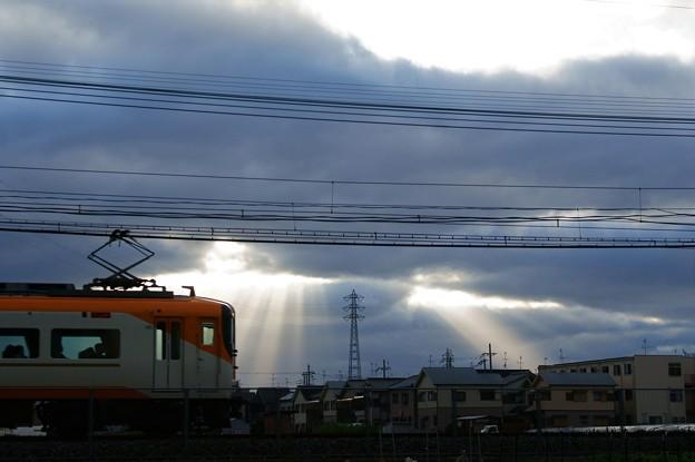 夕刻の近鉄大阪線