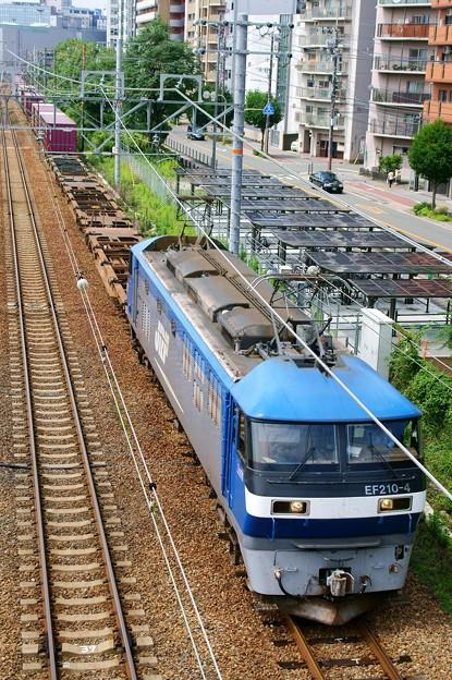 1070レ【EF210-4牽引】