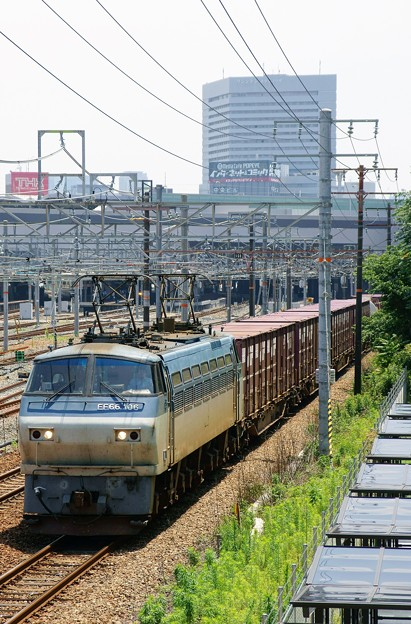 5074レ【EF66 106牽引】