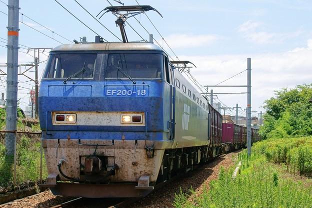 1086レ【EF200-18牽引】