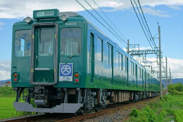 近鉄田原本線 ダークグリーン