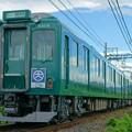 写真: 近鉄田原本線 ダークグリーン
