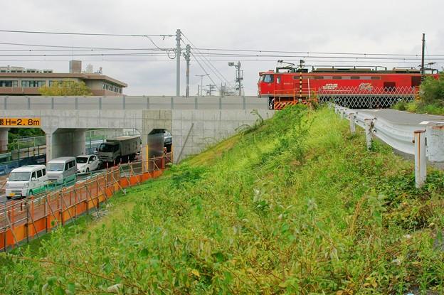 赤川踏切廃止【EF510-5】