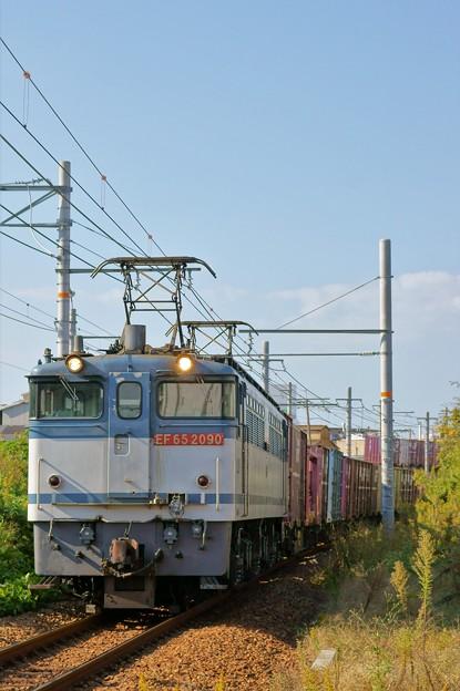 72レ【EF65 2090牽引】