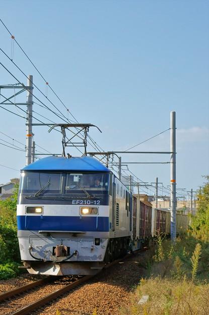 1070レ【EF210-12牽引】