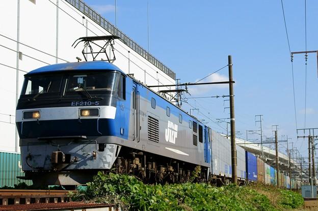 1055レ【EF210-5牽引】