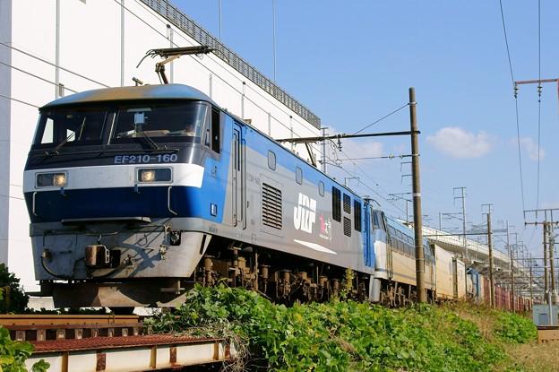 2077レ【EF210-160+EF66 114(ムド)】