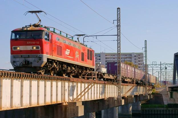 4071レ【EF510-12牽引】