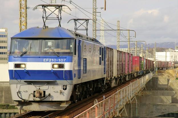 1086レ【EF210-107牽引】
