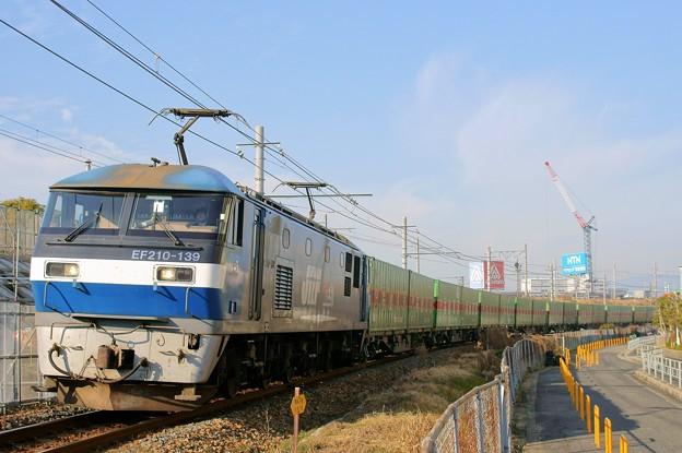 56レ【EF210-139牽引】