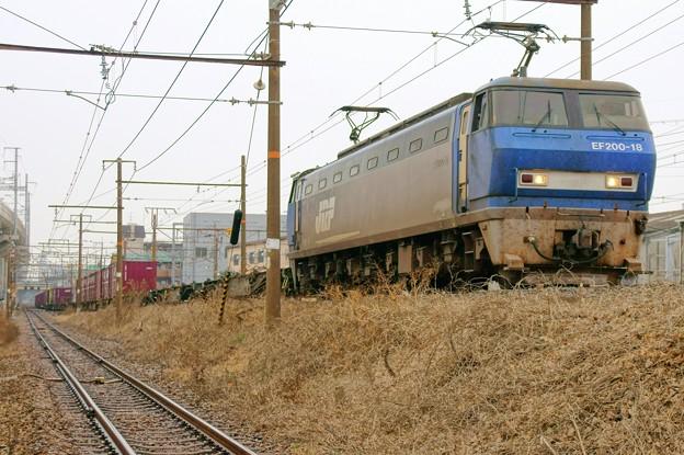2073レ【EF200-18牽引】