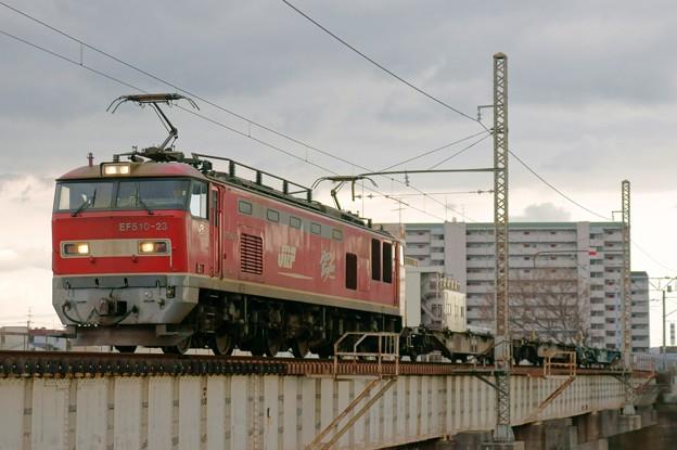 Photos: 配1392レ【EF510-23牽引】
