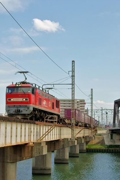4071レ【EF510-22牽引】