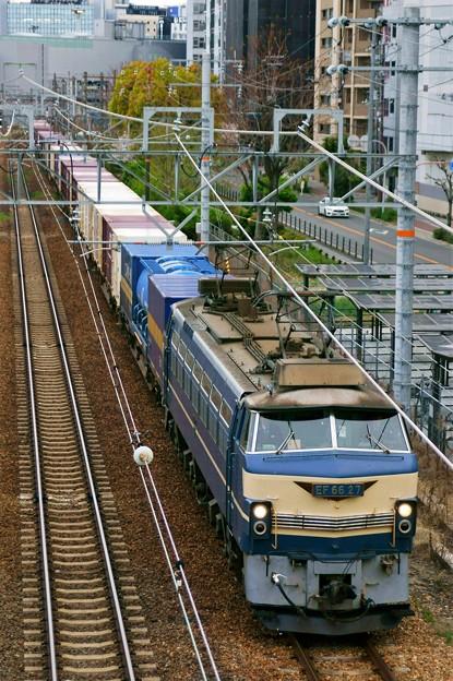 Photos: 86レ【EF66 27牽引】