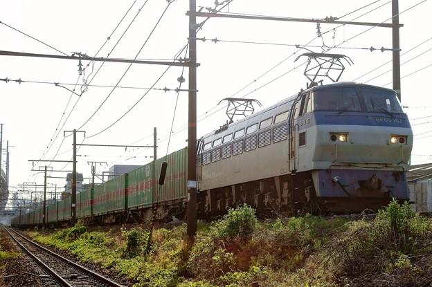 55レ【EF66 107牽引】