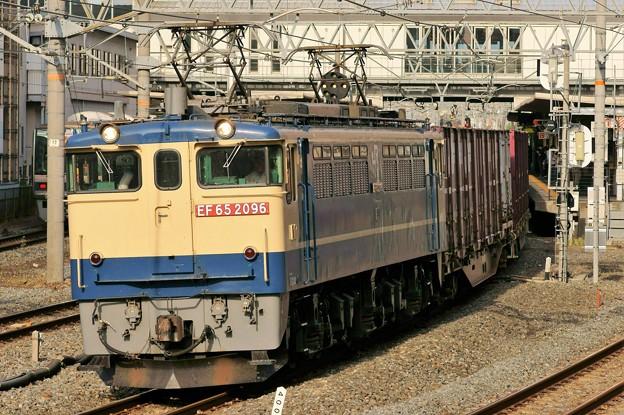 Photos: 84レ【EF65 2096牽引】