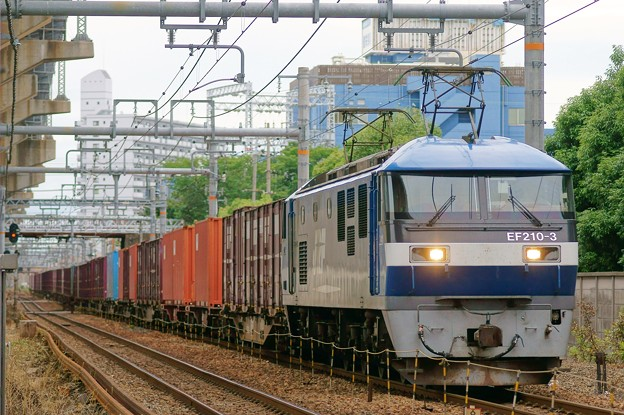 臨8053レ【EF210-3牽引】