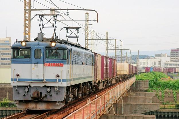 5087レ【EF65 2087牽引】
