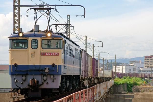 5087レ【EF65 2139牽引】