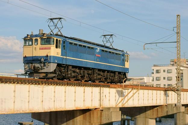 84レ【EF65 2068単機】