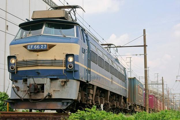遅67レ【EF66 27牽引】