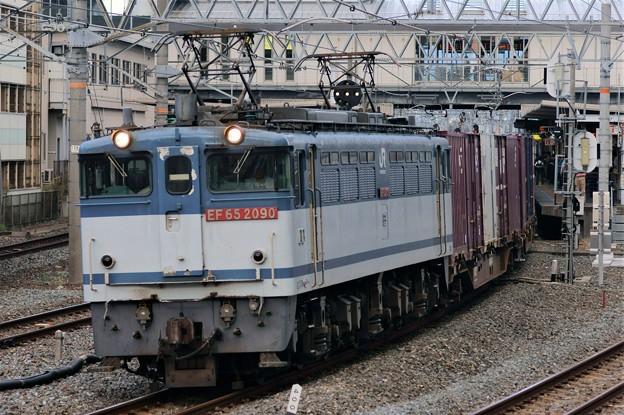 84レ【EF65 2090牽引】