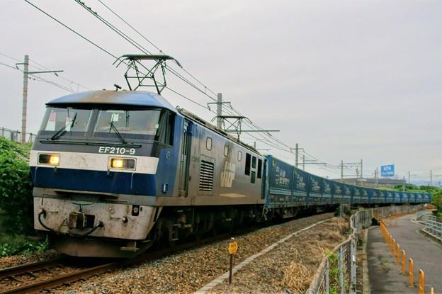 臨8056レ【EF210-9牽引】