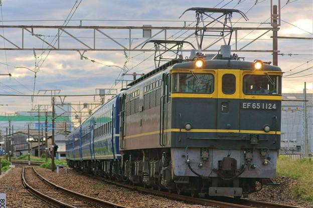 Photos: 北びわこ号 返却回送【EF65 1124牽引】