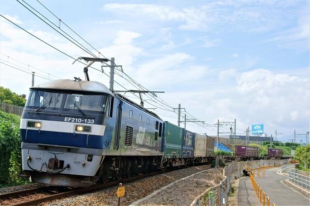 1052レ【EF210-133牽引】