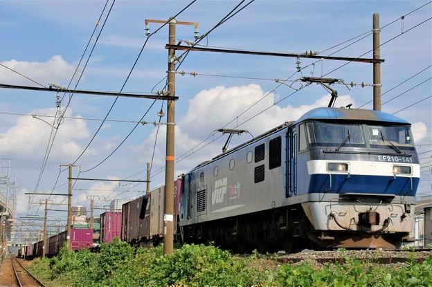 5071レ【EF210-141牽引】