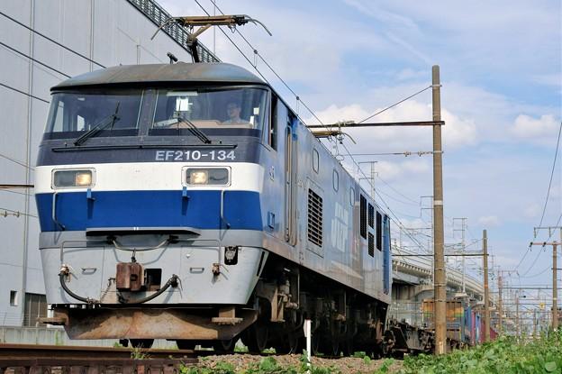 5085レ【EF210-134牽引】