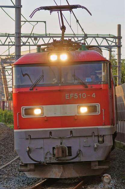 4076レ【EF510-4牽引】